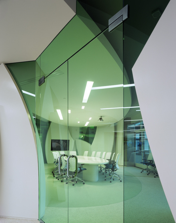 Maguire Partners, Los Angeles on Behance #interior #glass #glazing