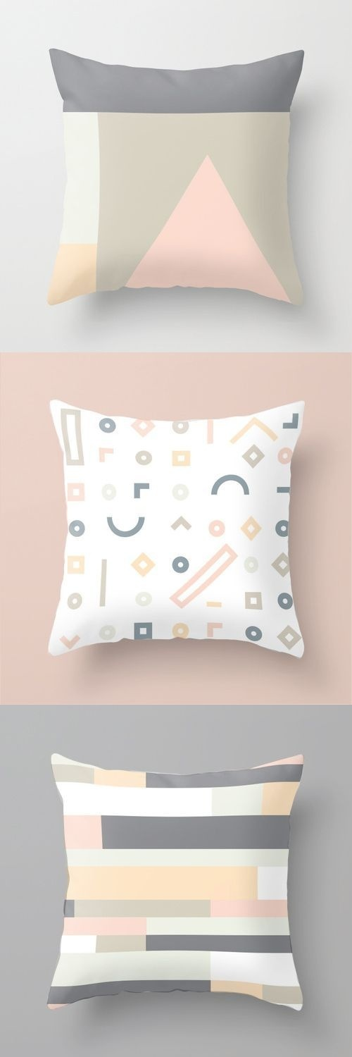 Throw Pillow In Stock • $20 #home #minimal #cushion #decoration #pastel