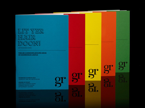 Launch programme brochure by Ascend Studio #colourful #design #brochure
