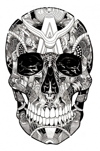 Skulltastic on the Behance Network #skull