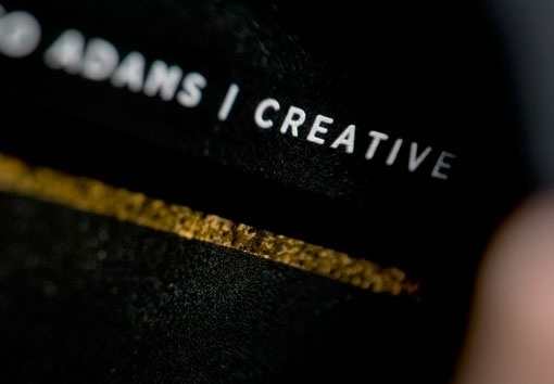 Design Work Life » NOTHING:SOMETHING: Resin Denim Branding Part 1 #typography
