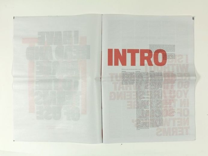 by Cleber Rafael de Campos #layout #newspaper #editorial #typography
