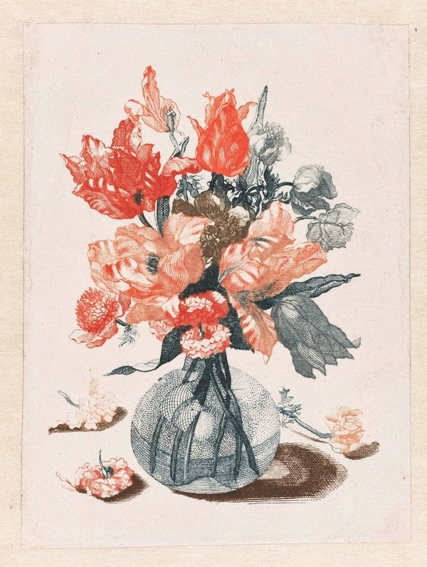 West end girl #printable #museum #print #free #floral #etching #art
