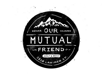 Mutual Friend #white #black #colorado #and #logo