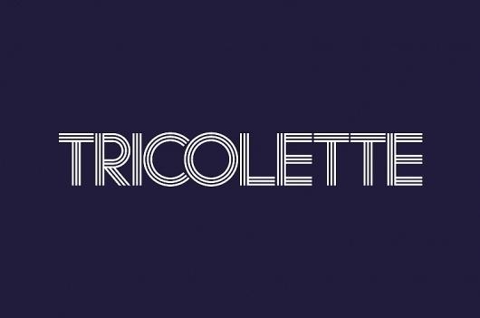 KentLyons :: Tricolette #logo #identity #branding