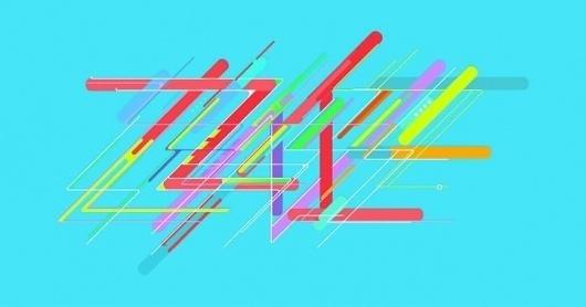 P+ #lettering #graffiti #illustration #colors #name #type #blue
