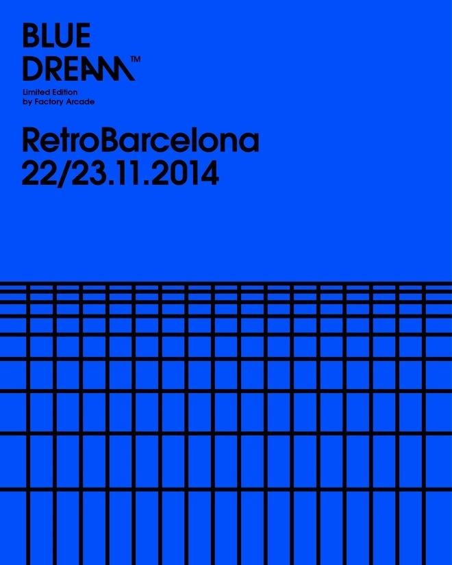 Forma & Co — Factory Arcade — Blue Dream #poster