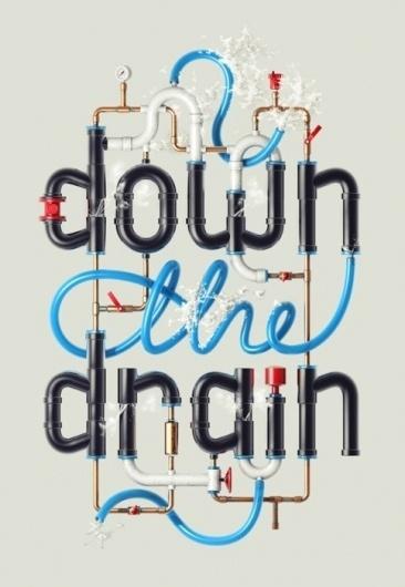 Lovely stuff / plumbing #typography