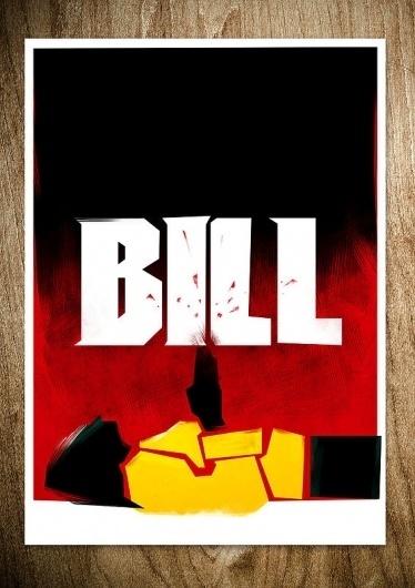 REVENGE IS A DISH BEST SERVED COLD - Rocco Malatesta Posters & Prints #movie #bill #malatesta #graphic #rocco #illustration #poster