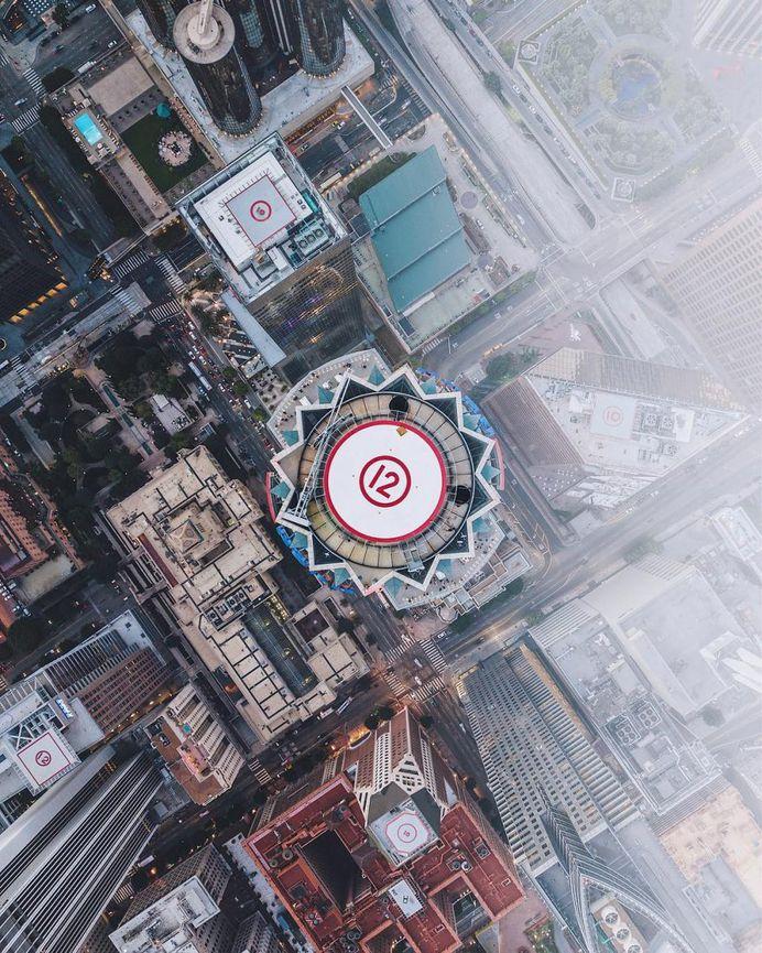 Tobi Shinobi Uses Drones For Stunning Architectural Photography