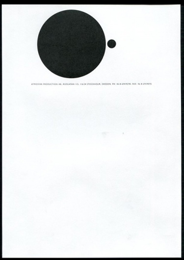 AMASSBLOG #minimalism #white #space #poster