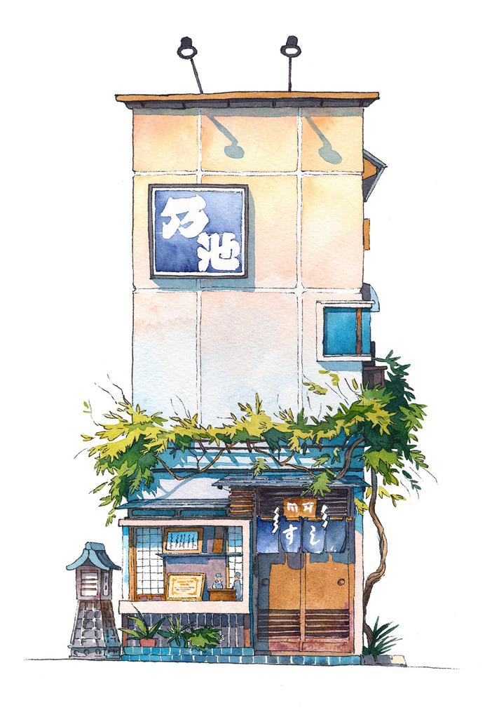 Tokyo storefront #10 Noike on Behance
