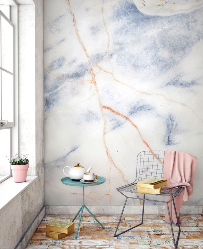 Marble Wall Decor by Murals Wallpaper