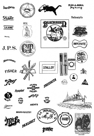 All sizes | Blackbird | Flickr - Photo Sharing! #logos #vintage