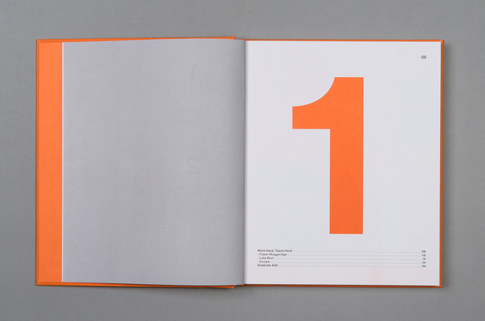 YCN Annual 13/14 - Alex Hunting #layout #editorial
