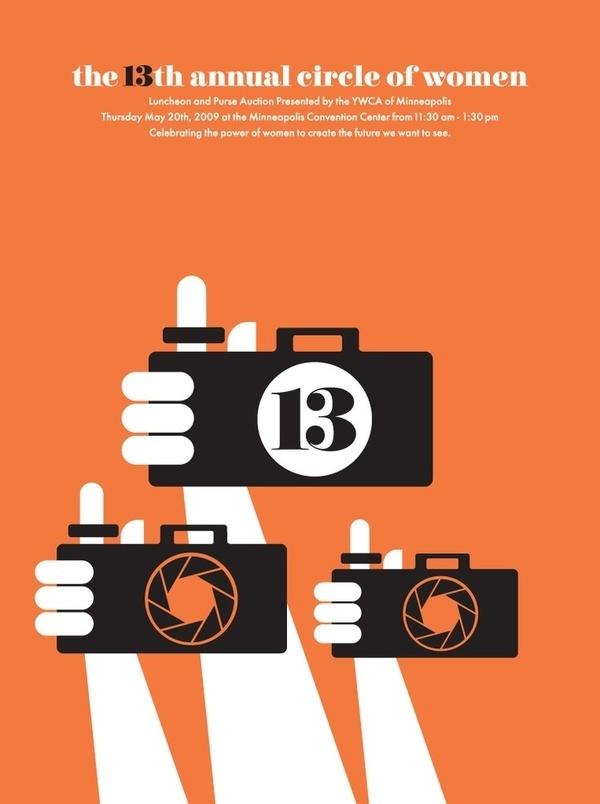 YWCA | Posters #mpls #camera #wink #hands