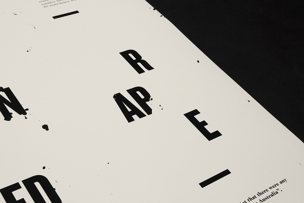 Little Children are Sacred : Luke Robertson #typography