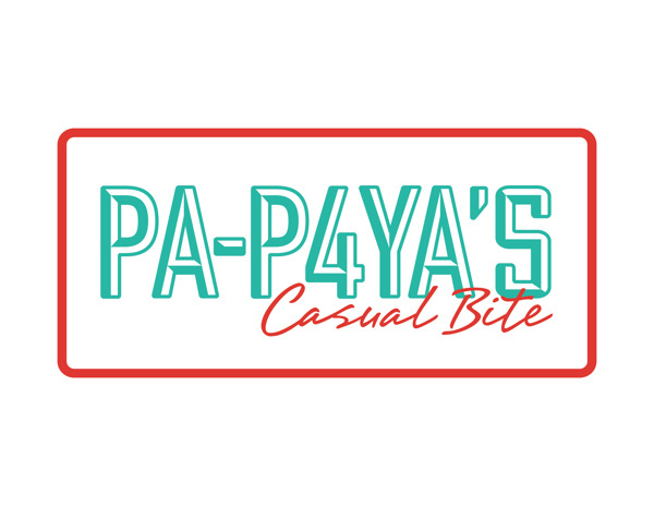 PAPAYA'S Casual Bite on Behance #foodtruck #red #branding #design #graphic #hotdogs #food #burgers #logo #fast #green