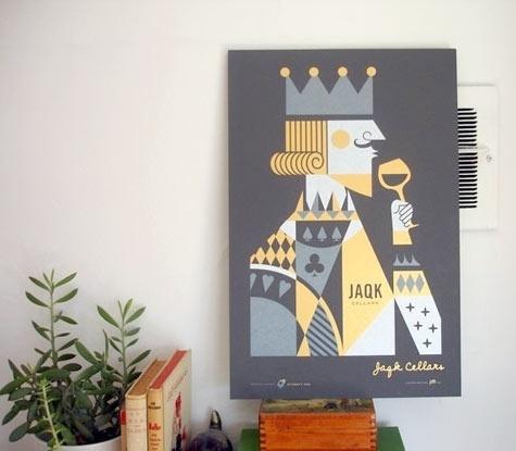 Design*Sponge » Blog Archive » jaqk cellars #cellars #jaqk #poster