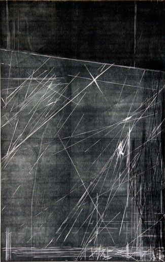 Untitled || lukeshumard.com #woodcut #abstract #printmaking
