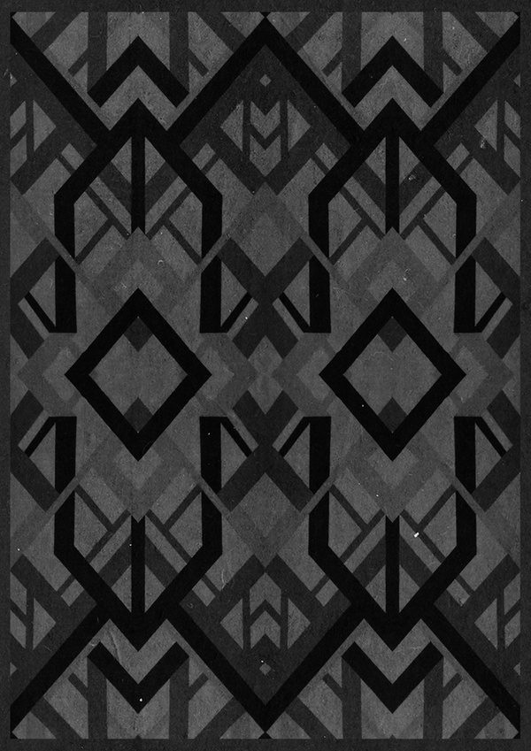 Geometric versions #versions #geometry #design #geometric #blaqk #posters #symmetry #greece #patterns #simek #athens