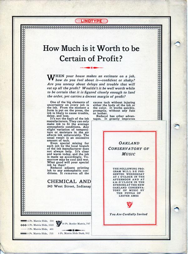 Linotype Antique No. 1 type specimen #type #specimen #typography