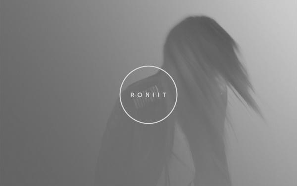 RONIIT Website Design and Brand Identity on Behance #logo #photography #blackandwhite