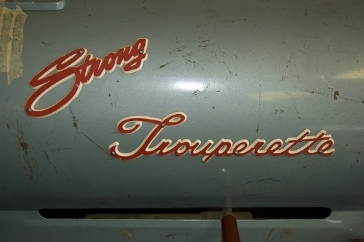 strong trouperette 9 | Flickr - Photo Sharing! #type #teal #red #spotlight