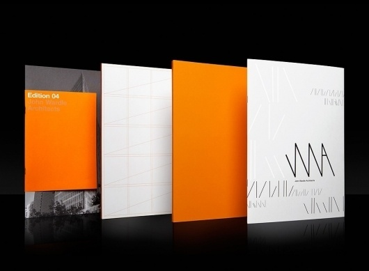 Collate #format #orange #cover #grid #3 #deep #booklet #typography