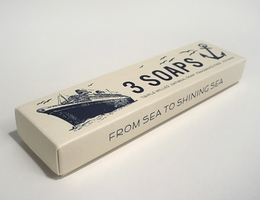 lovely-package-izola-maritime-soap1.jpg (538×414) #packaging #print #soap #boat #navy #sail #paper