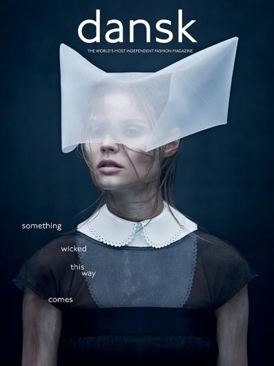 DANSK Magazine | AW11 Cover | F.TAPE | Fashion Directory #cover #magazine #print #art