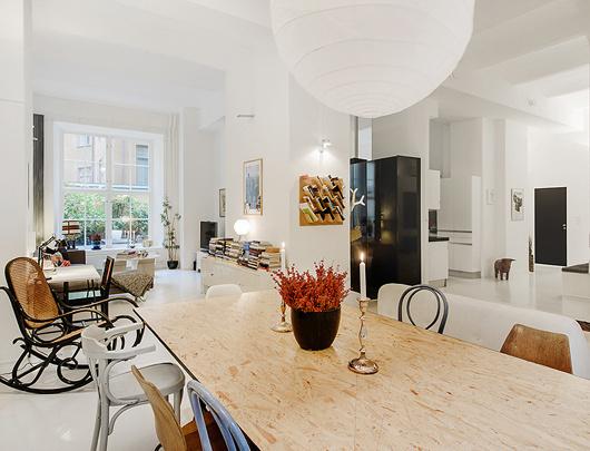 stockholm dining room #interior #design #decor #deco #decoration