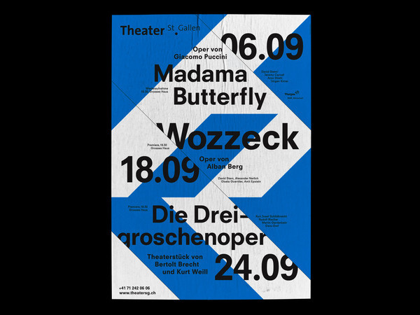 Bureau Collective – Theater St.Gallen 2010/11 #design #graphic #poster