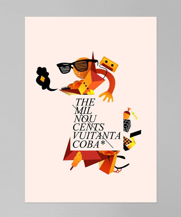 The 1980's   Estudio coba #tipografia #diseo #lettering #estudi #tipography #de #ilustraci #estudio #ilustration #disseny #ilustracion