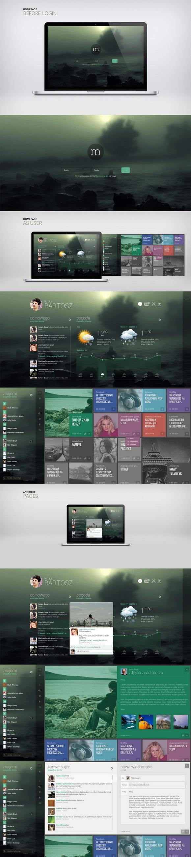 Illustration/Painting/Drawing/Photography inspiration #user #design #interface #ui #web