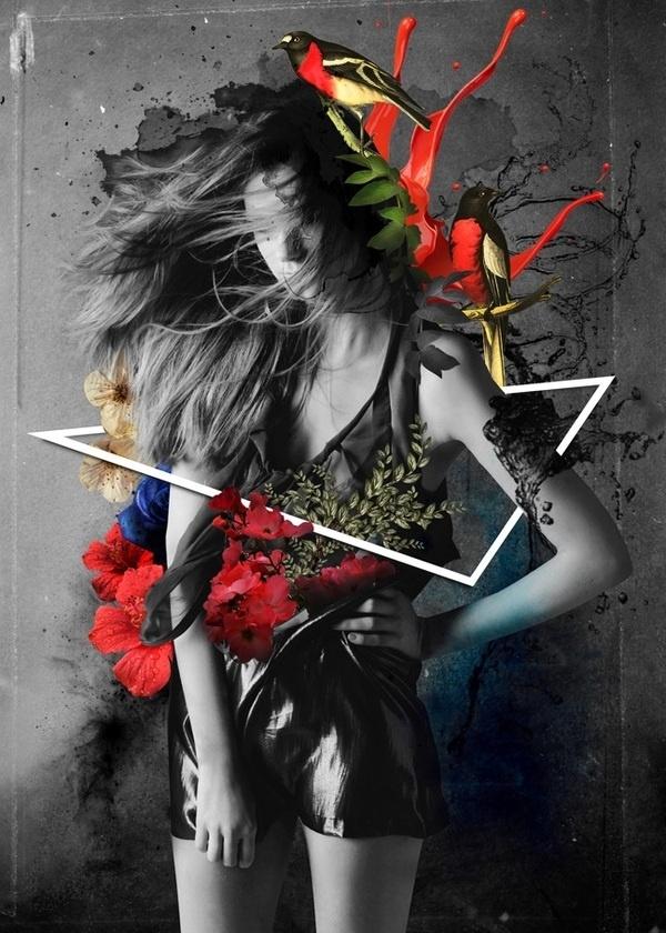 Digital Collage on the Behance Network #digital #design #collage #art