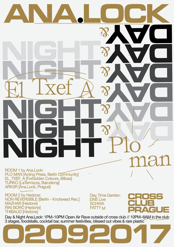 ANA.LOCK w/ El_Txef_A & Plo–Man @ Cross club, PRG