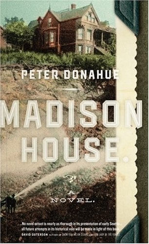 The Book Cover Archive: Madison House, design by Pinch #pinch #design #book #typography