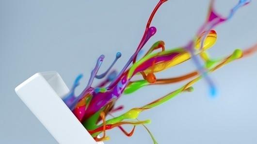 BT Vision | Shane Griffin | MoGriph #motion #paint #fluid