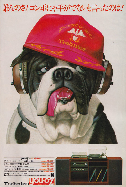 Designersgotoheaven.com Panasonic electronics,1975.(Viav.valenti) #poster