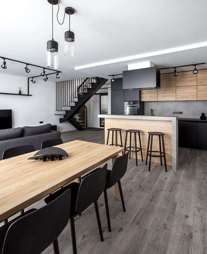 Beautiful Urban Simplicity with a Dynamic Modern Note - InteriorZine