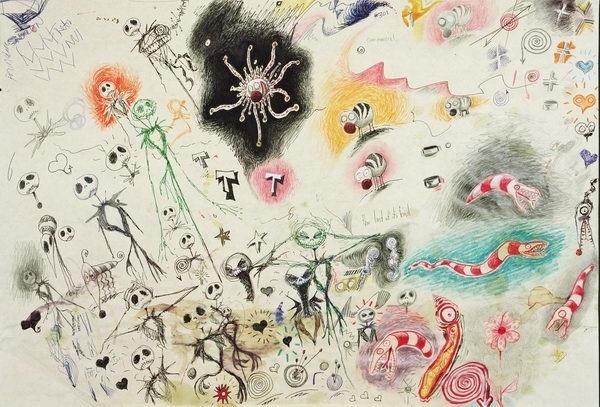 Tim Burton #burton #illustration #doodle #tim