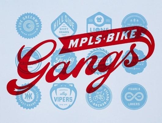 Artcrank 2012 - Allan Peters #logos #print #screen #peters #allen #gangs