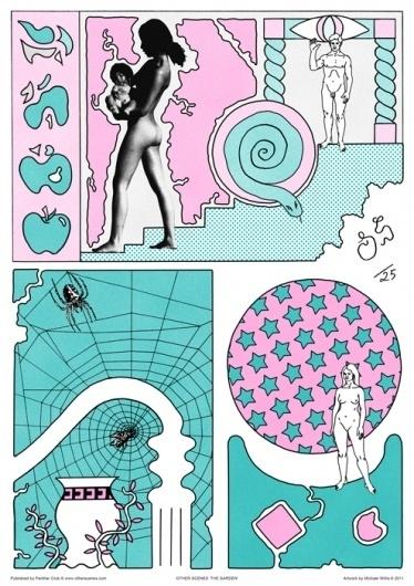 Otherscenes / Michael Willis | High-Hi #post #willis #modern #illustration #80s #collage #michael