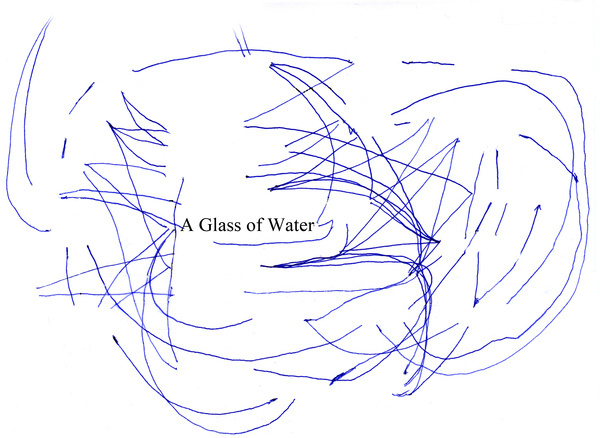 Janssen A Glass of Water #drawing #sketch #typography