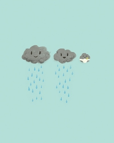 luvinthemommyhood: mommyhood wishes #clouds #smile #rain #blue #baby