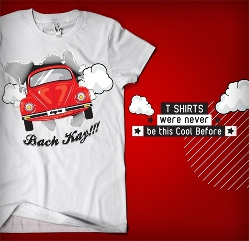 T Shirts were never be this Cool Before!!! on the Behance Network #pakistan #t #shirt #illustration #cars #fashion #dress #car #typography