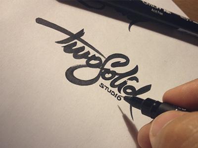 Twosolid #logo #black