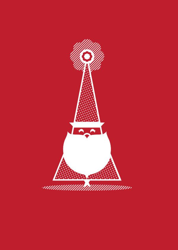 Jolly Holiday Half His Half Hers #illustration #christmas