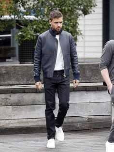 Here is a glorious item at topcelebsjackets of your favorite singer. Liam Payne looks stylish in this Black Jacket. This item is made in real leather. #americansinger #liampayne #stylishjacket #singerjacket #leatheritem #fashion #love #popular